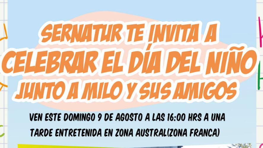 SERNATUR Magallanes celebrará el Día del Niño en Zona Austral