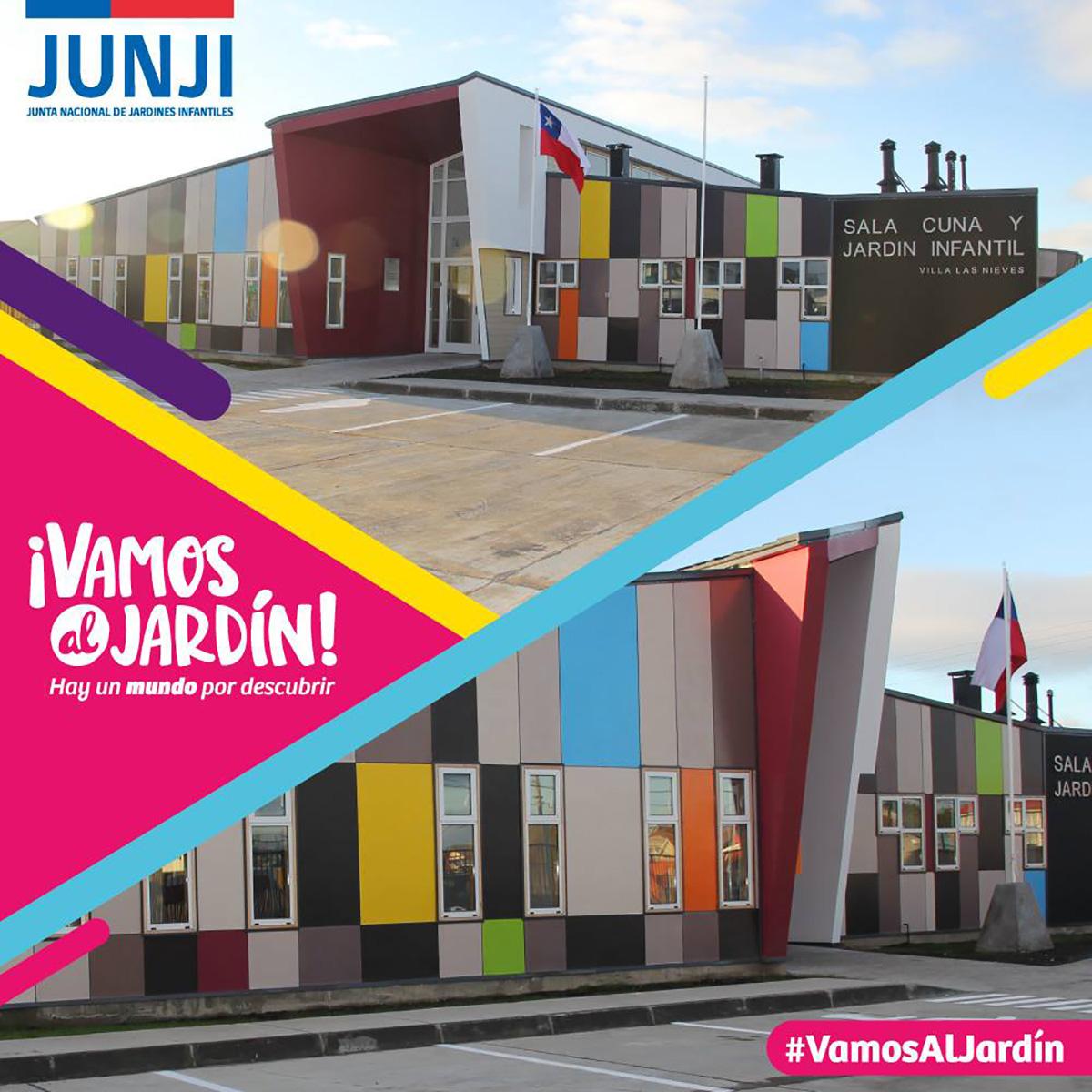 Ovejeronoticias junji magallanes inaugura dos modernos for Postulacion jardin junji 2016