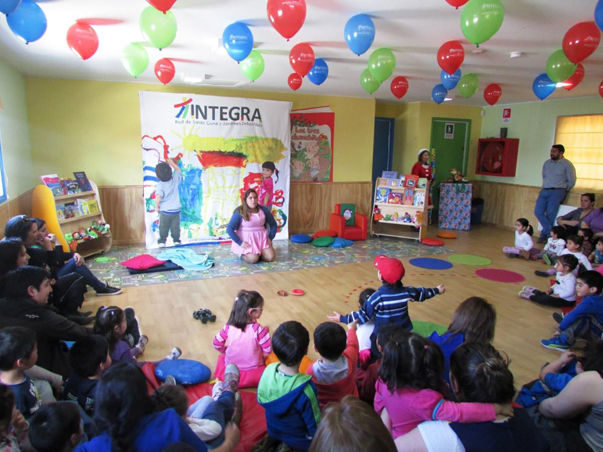 Ovejeronoticias integra releva la importancia de asistir for Aprendiendo y jugando jardin infantil