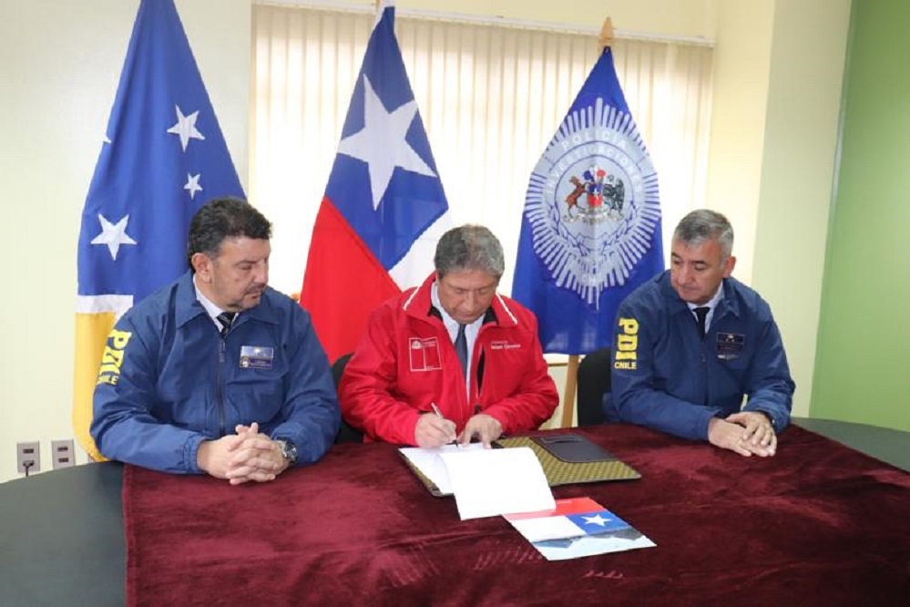 Duplican dotación de detectives de la PDI en la Provincia Antártica: se ubican allí los pasos fronterizos más australes de Chile
