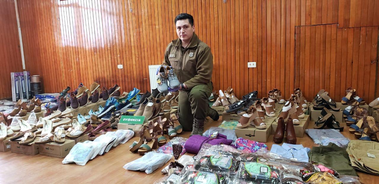 Dos detenidos por robo de  ropa de marcas exclusivas en Puerto Natales