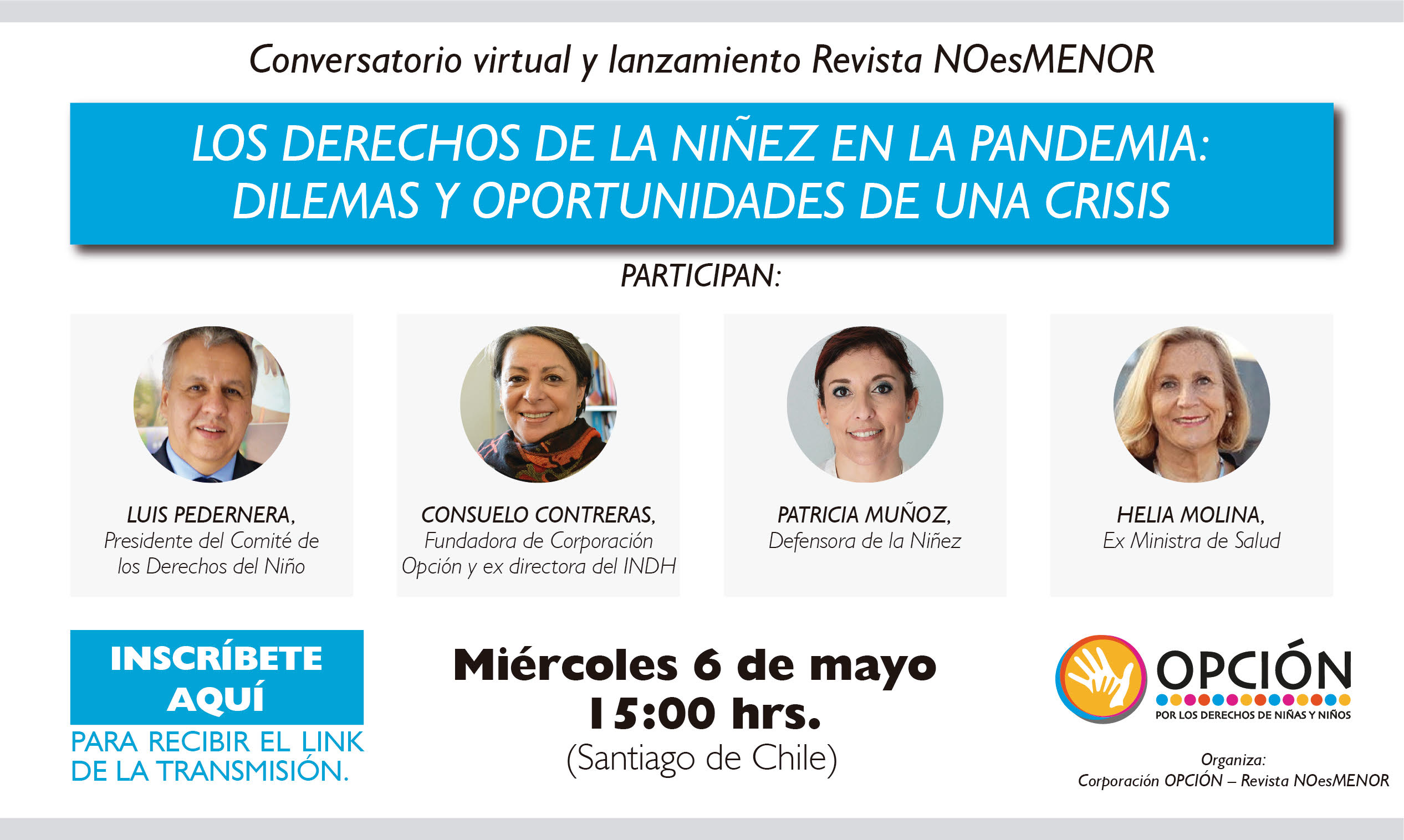 Los derechos de la niñez en la pandemia: seminario virtual este miércoles 6 de mayo
