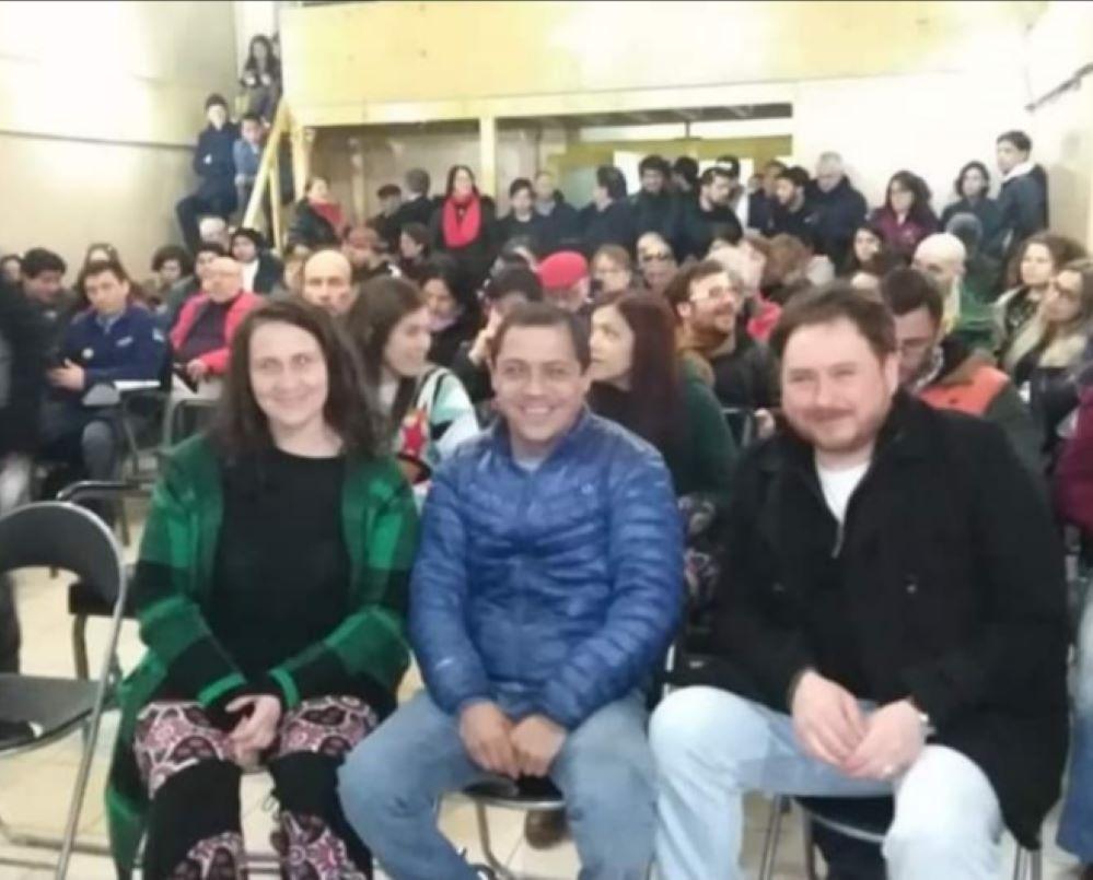 Concejala Daniela Panicucci entrega su apoyo a Arturo Díaz, para las primarias de mañana domingo 3 de enero en Punta Arenas
