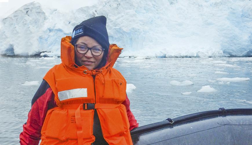Ranking internacional destaca investigación, encabezada por científica antártica chilena dra. Leyla Cárdenas del Centro IDEAL
