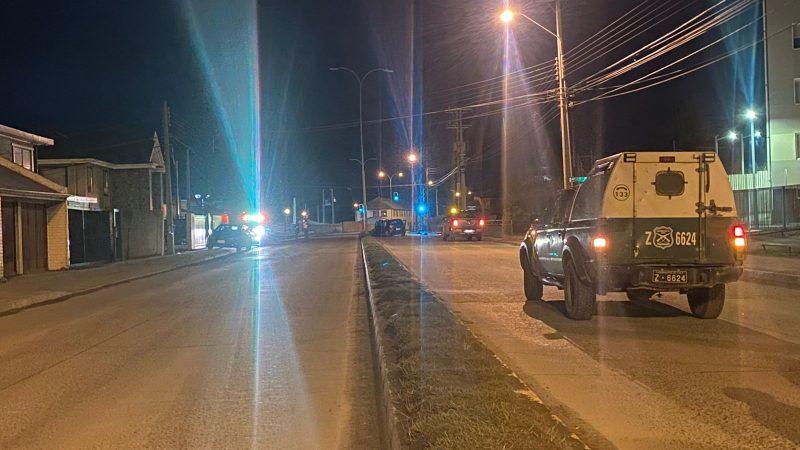 Colisión frontal en 21 de Mayo deja un fallecido en Punta Arenas