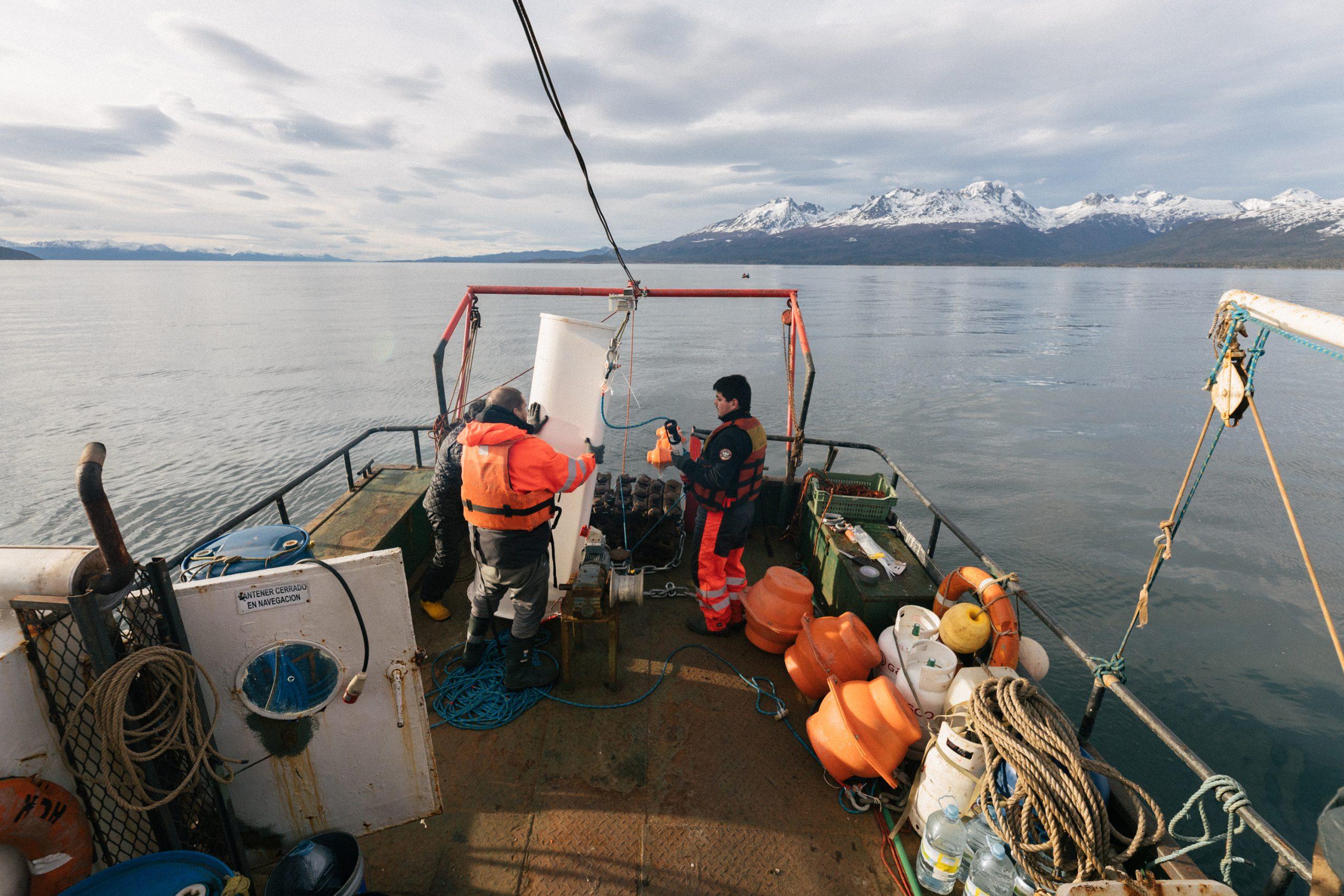 Registro de vientos inusuales fueron parte de los datos recuperados por expedición oceanográfica al canal Beagle