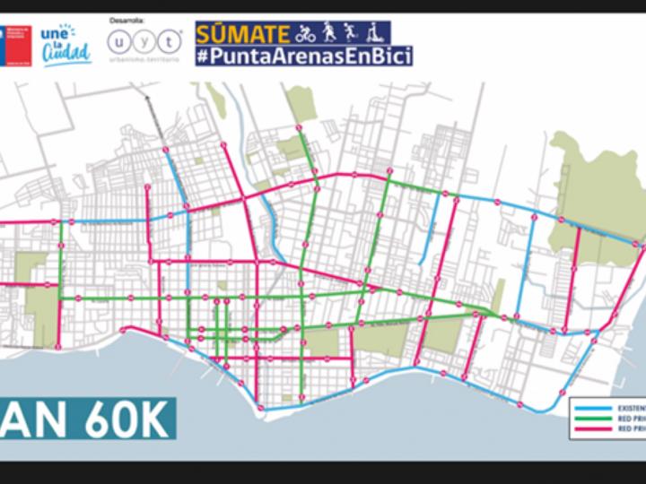 Hasta el 22 de septiembre se podrá participar en encuesta digital Diseño Ciclo Rutas 60K de Punta Arenas