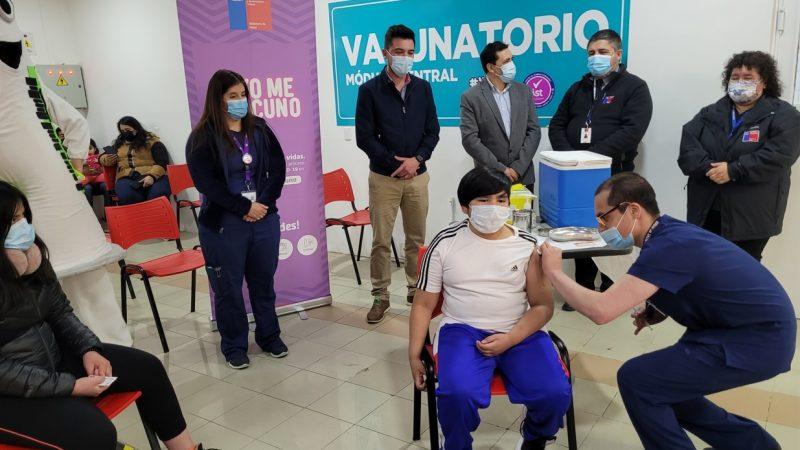 Nuevo punto de vacunación en Zona Franca amplia despliegue de inmunización contra Covid-19 en Punta Arenas